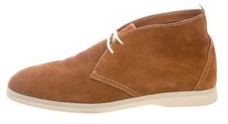Loro Piana Round-Toe Desert Boots