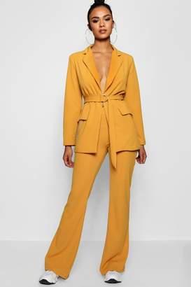 boohoo Tailored Flared Trouser