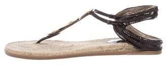 Diane von Furstenberg Embellished Slingback Sandals