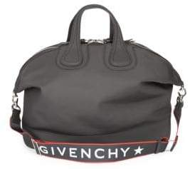 Givenchy Logo Zip Duffel Bag