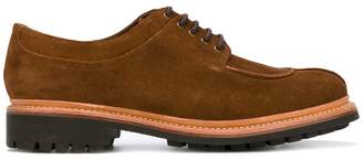Grenson lace up derby shoes