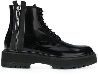 Givenchy ridged sole boots