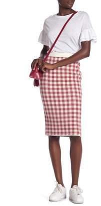 ENGLISH FACTORY Knit Pencil Skirt