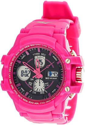 Everlast Womens Pink Strap Analog/Digital Sport Watch