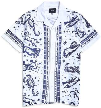 HUF Zodiac Short Sleeve Shirt White