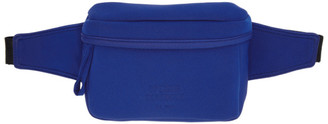 Opening Ceremony Blue Neoprene Fanny Pack