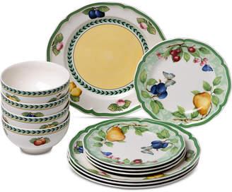 Villeroy & Boch French Garden Beaulieu Porcelain 12-Pc. Dinnerware Set