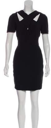 A.L.C. Twist Neck Dress w/ Tags Black Twist Neck Dress w/ Tags