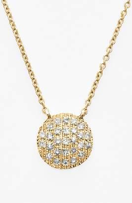 Ralph Lauren Dana Rebecca Designs 'Lauren Joy' Diamond Disc Pendant Necklace