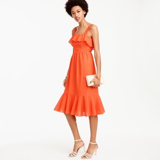 Tall ruffle eyelet dress $110 thestylecure.com