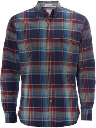White Stuff Men's Firethorn Flannel Long Sleeve Shirt