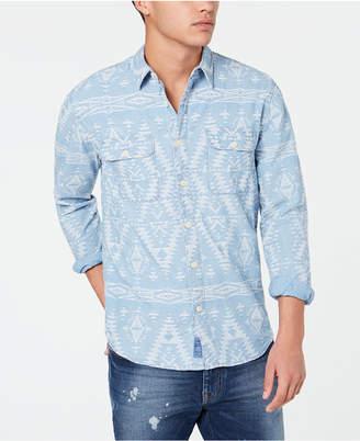 Lucky Brand Men Workwear Shirt