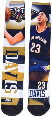 For Bare Feet Anthony Davis New Orleans Pelicans Pro Stripe Player 308S Crew Sock