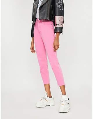 Versace SEROTONIN VINTAGE straight high-rise jeans