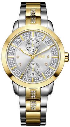 JBW Women Lumen Diamond (1/20 ct.t.w.) Stainless Steel Watch