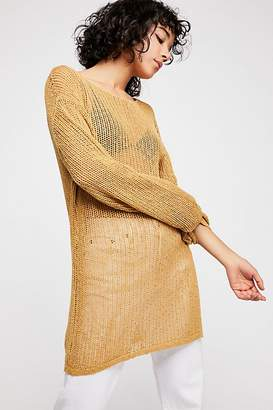 The Endless Summer Fp Beach Fishnet Sweater