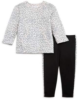 Splendid Girls' Leopard Sweatshirt & Leggings Set, Baby - 100% Exclusive
