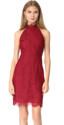 BB Dakota Cherie High Neck Lace Dress $105 thestylecure.com