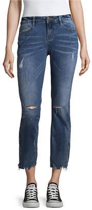 8bff9e668c0 UNIONBAY Mid Rise Juniors Cropped Pants