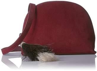 Loeffler Randall Crossbody Pouch (Suede/Horse Hair Tassels)