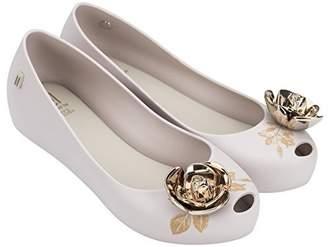 Melissa Womens Ultragirl + Beauty and The Beast Flat Shoe Matte Size 8