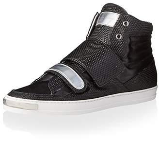 Alessandro Dell'Acqua Men's Gibson Double Strap High Top Sneaker
