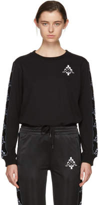 Marcelo Burlon County of Milan Black Kappa Edition Tape Sweatshirt