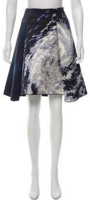 Dion Lee Printed Knee-Length Skirt