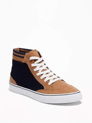 Old Navy Color-Blocked Varsity-Style High-Tops for Men
