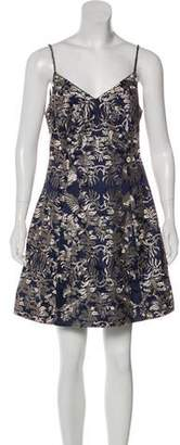 Mestiza New York Brocade Sleeveless Mini Dress w/ Tags