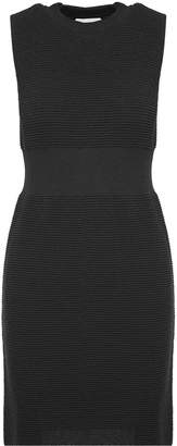 Moschino Ribbed-knit Lurex Dress