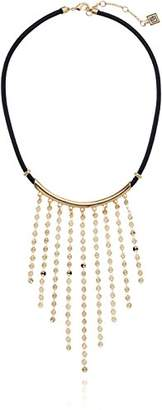 Laundry by Shelli Segal Pailette Frontal Necklace
