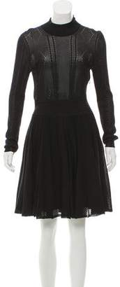 Givenchy Knit Knee-Length Dress
