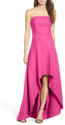 Women's Laundry By Shelli Segal Strapless High/low Gown $295 thestylecure.com