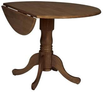 Three Posts Boothby Round 42 Dual Drop Leaf Dining Table