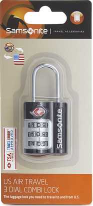 Samsonite Safe luggage lock $12 thestylecure.com