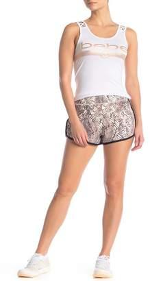 Bebe Printed Dolphin Shorts