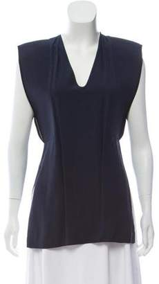 Zero Maria Cornejo Sleeveless V-Neck Top