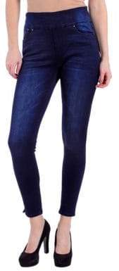 Lola Jeans Slim-Fit High-Rise Ankle Jeans