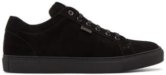 Brioni Black Suede Derek Sneakers