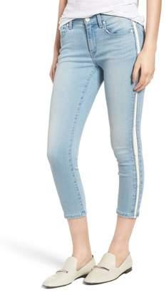 Habitual Demi Tuxedo Stripe Skinny Crop Jeans