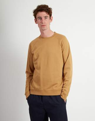 Folk Rivet Sweatshirt Tan