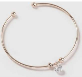 Dorothy Perkins Womens Cubic Zirconia Drop Bangle