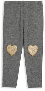 Design History Toddler's & Little Girl's Smiley Leggings