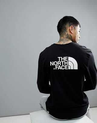 The North Face Easy Long Sleeve Top In Black