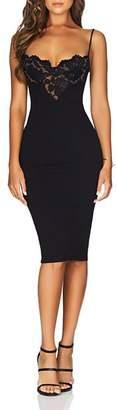 Nookie Liana Lace-Bodice Dress