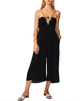 SUBOO Fine Lines Tie Back Jumpsuit