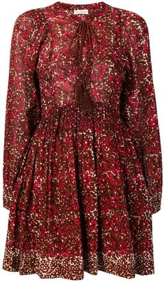 Ulla Johnson lace-up front floral dress