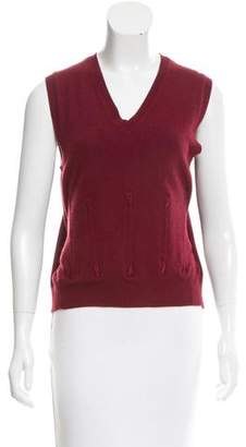 Marc Jacobs Sleeveless Wool Top