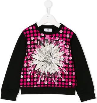 Versace floral Medusa print sweatshirt